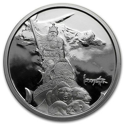 1~Oz .999 Silver Proof ~ Frank Frazetta's ~ Silver Warrior ~Numbered~Coa ~$38.88