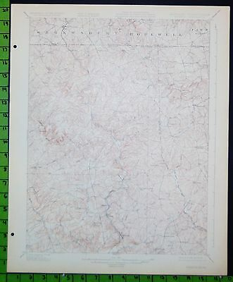 Parkton Maryland 1927 Antique USGS Topographic Map 16x20