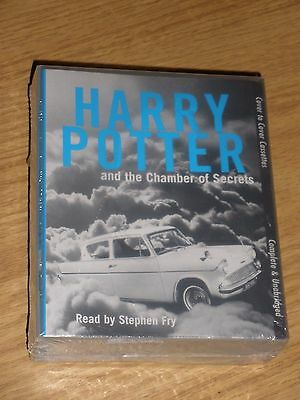Cassette Audiobook Harry Potter And The Chamber Of Secrets 6 Cassettes New