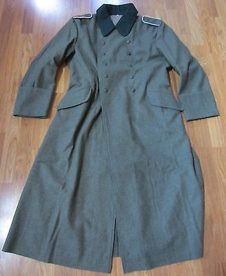 Wwii German M36 M1936 Wool Overcoat Greatcoat- Large