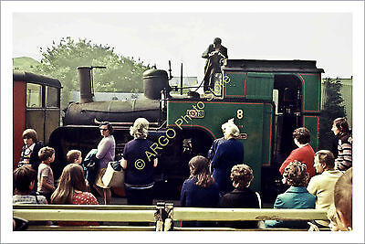 ra 007 STEAM Snowdon Mountain Railway 0-4-2RT loco locomotive Eryri 1972 photo