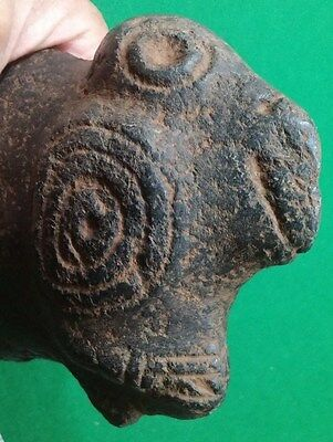 Taino Large Cerimonial Parrot Hand Axe or Knife - Pre Columbian  Museum Grade