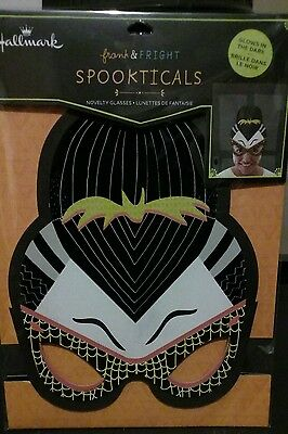 Hallmark Spookticals Glow In The Dark Novelty Party Glasses Fits Adult