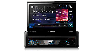 """Pioneer AVH-X7800BT 1-DIN DVD Receiver with 7"""" Flip-out Display, and Bluetooth®"""