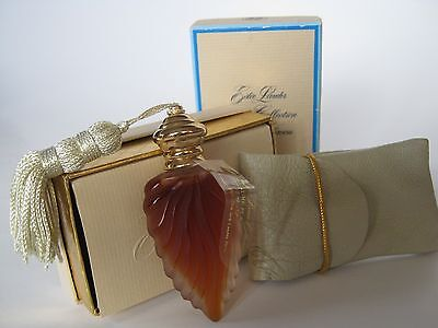 Vintage Estee Lauder Private Collection Perfume Flacon Bottle/Pouch NEW-Unopened