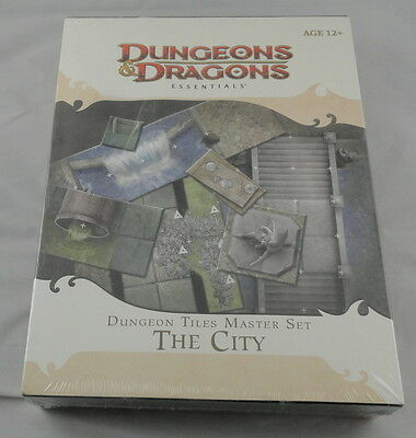 Dungeons & Dragons 4th Ed Dungeon Tiles Master Set The City WOC24443 D&D