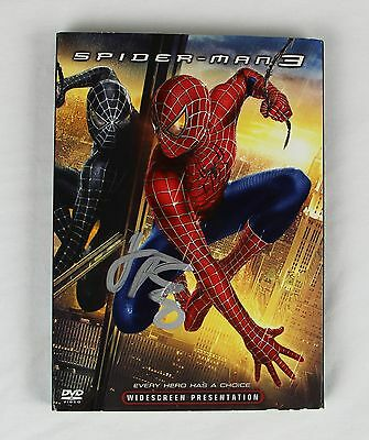 James Franco Spiderman 3 Signed Authentic Autographed DVD Slip Cover COA