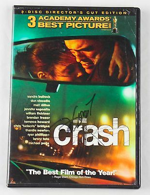Terrence Howard Crash Autographed Signed DVD Cover RARE COA