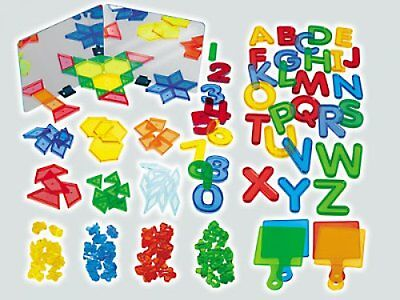 Lakeshore Light Table Learning Materials Mirrors Letters Numbers Shapes Pattern