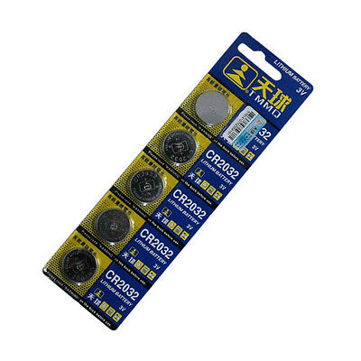 5Pcs Pro CR2032 DL2032 LM2032 3V Button Cell Coin Battery for Watch Toys Set