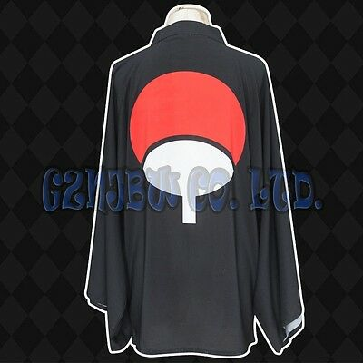Naruto Uchiha Sasuke Cosplay costume cloak komono chiffon Bathrobe robe gift