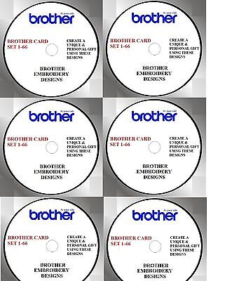 Buy Any 2 Cds & Get Free Font Cd, Brother Cards 1- 66 Pes Nv2