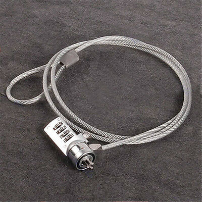 Password 4 Digit Security Computer Lock Anti-theft Chain For Notebook PC Laptop