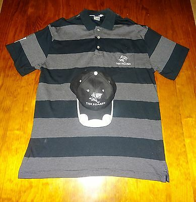 THE SHARKS rugby union XL POLO SHIRT and CAP both new
