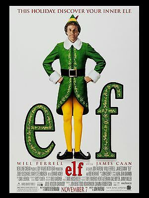 """Elf 16"""" x 12"""" Reproduction Movie Poster Photo"""