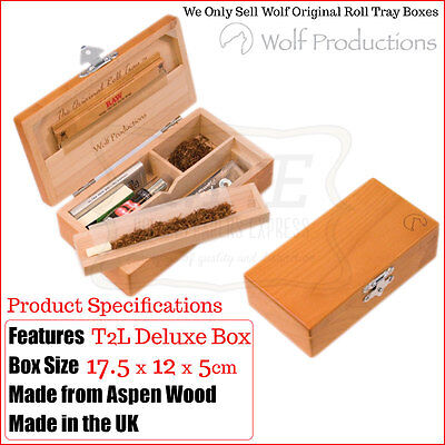 Large Deluxe Rolling Storage Box T2 Wolf Productions - Multi Listings