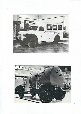 Commercial Vehicles  1954 Commercial Motor Show 7 Postcards