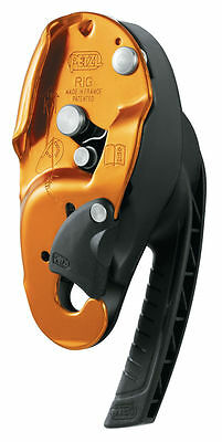 Petzl Rig Compact Self-braking Descender - Climbing Caving Access Arborist