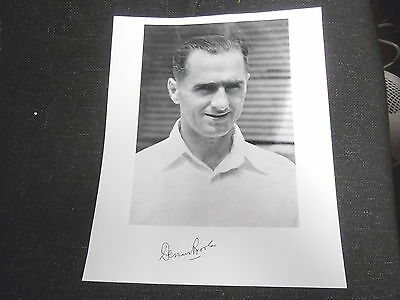 Dennis  Brookes - 10x8 Photograph - Signed by Dennis Brookes