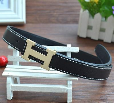 New Fashion Casual Children Faux Leather Adjustable Belts For Boys Girls Unisex