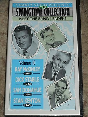 VHS The Swingtime Collection-Vol.10 Meet the Band Leaders-McKinley-Stabile-Dona