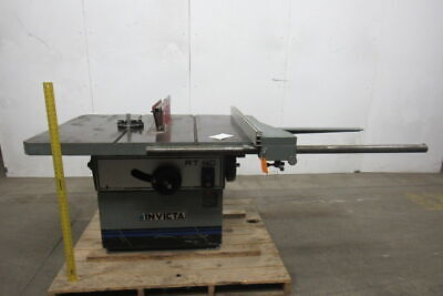 "Invicta RT40 Table Saw 230/460/3PH 7.5HP 14""-16"" 59""x43"" Table W/Fence"