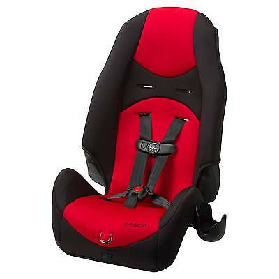 Cosco Highback 2-in-1 DX Booster Car Seat - Vibrant Red