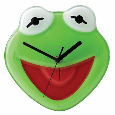 Disney Enchanted Collection A24799 Kermit The Frog Clock New And Boxed