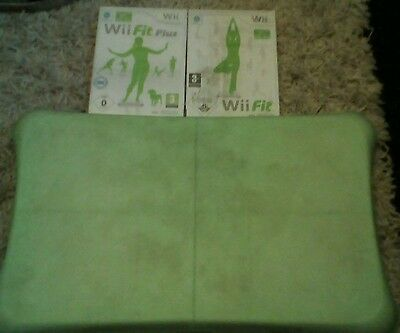 Nintendo Wii fit Balance Board and 2 games