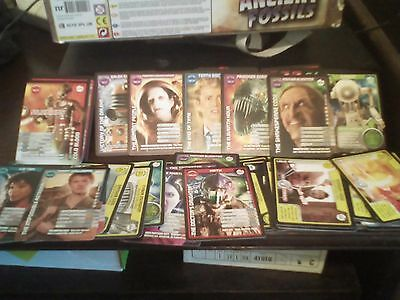 Doctor Who Monster Invasion playing cards bundle