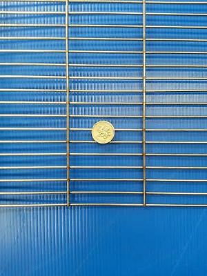 """Stainless Steel BBQ Grill Mesh 21.5"""" x 9"""" Stainless Steel 304 - BBQ Firepit"""
