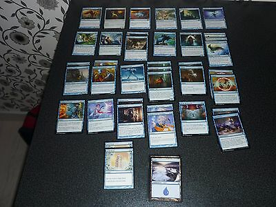 MtG Magic the Gathering blue Beat Down Deck