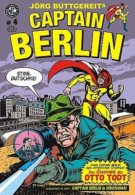 Captain Berlin 4 - Deutsch - Weissblech - NEU