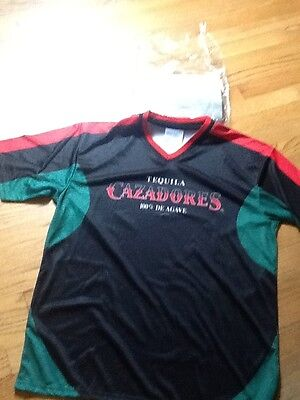 BRAND NEW IN PACKAGE Tequila CAZADORES Soccer Futbol Jersey #22 SHIRT-ONE SIZE