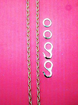 Regula,   genuine new cuckoo clock chains  for 8 Day type 34 movements.