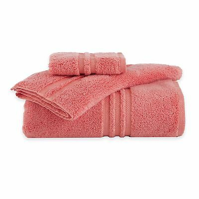 Under the Canopy 100% organic cotton Coral Bath Towel