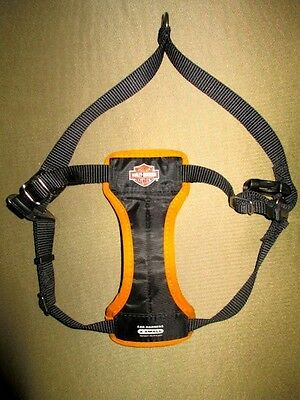 Car Harness Harley Davidson X-Small Dog Adjustable Canvas Straps Padded Nylon