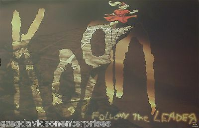 Korn 23x35 Follow The Leader Cover Art Music Poster 1998