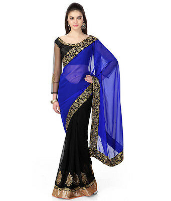 Bollywood Ethnic Designer Saree Party Wear Women lehenga Indian Pakistani Sari
