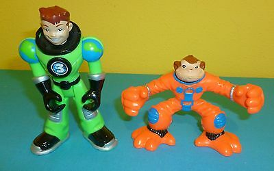 Fisher Price Planet Heroes Earth Ace & Monkey