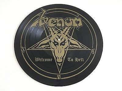 VENOM  -  Welcome To Hell     PIC LP  1981  NeatRecords