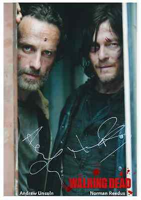The Walking Dead - 042 - Cast Signed x 2