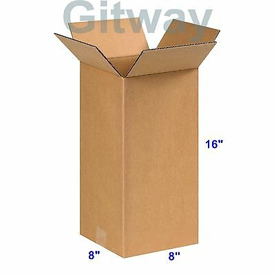 25 18x8x6 Corrugated Boxes Shipping Packing Moving Cardboard Cartons