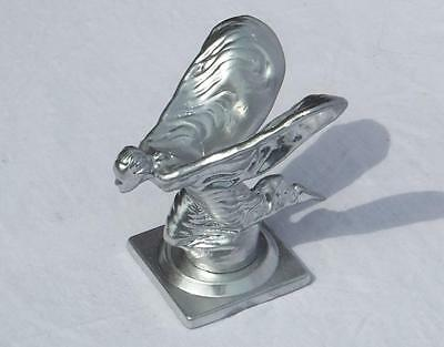Full Sized Rolls Royce Kneeing Lady in Silver with Base