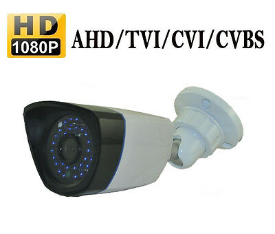 2.0MP 1080P HD-AHD/TVI/CVI &CVBS 4 In 1 Hybrid IR-CUT 36LED CCTV Outdoor Camera