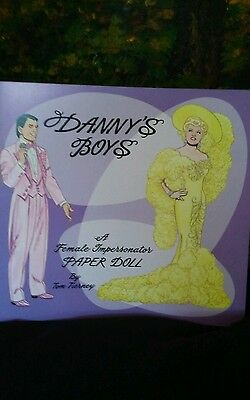 1997 Dannys Boys Female Impersonator Paper Dolls Wes Trumaine / Mae West