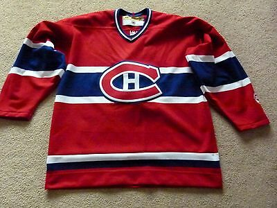 Official Montreal Canadiens Ice Hockey Shirt, Mens Sz Large, Vintage 2003, Koho