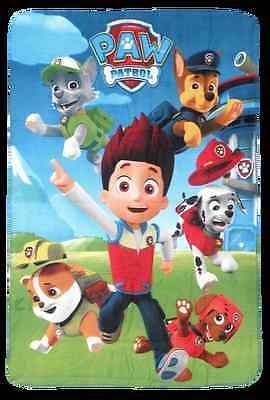 Paw Patrol Fleece Blanket New Design Officially Licensed Super Soft 100 x 150 cm