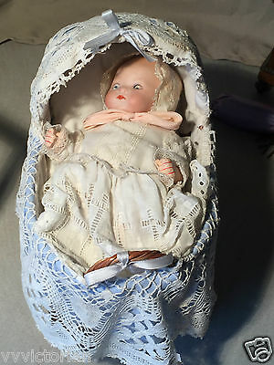 small armand marseille bisque head Baby Doll size 20 cm
