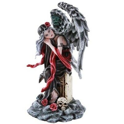 Weeping Angel of Mourning Memorial Figurine Collectible 10 Inch